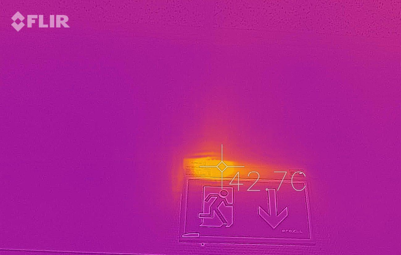 Termofotografering markeringslys